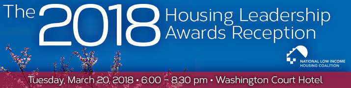 The 2018 Housing Leadership Awards Reception