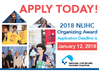 Apply Today! The NLIHC Organizing Awards!