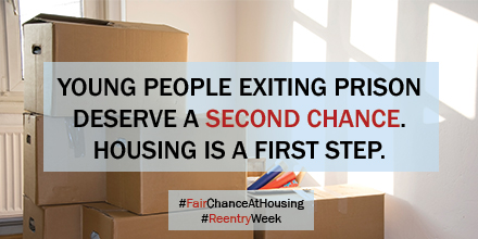 Fair Chance at Housing.  Reentry week