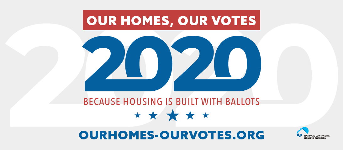 Our Homes Our Votes 2020 FB Header