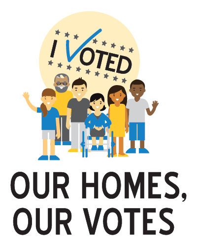 Our Homes, Our votes