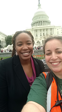 Demos President Heather McGhee & NLIHC Director of Public Policy Sarah Mickelson.