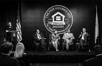 50th Anniversary of the Fair Housing Act Opening Ceremony.